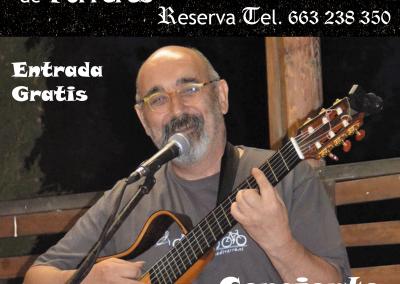 Póster Concierto Guitarra para N'Hereveta