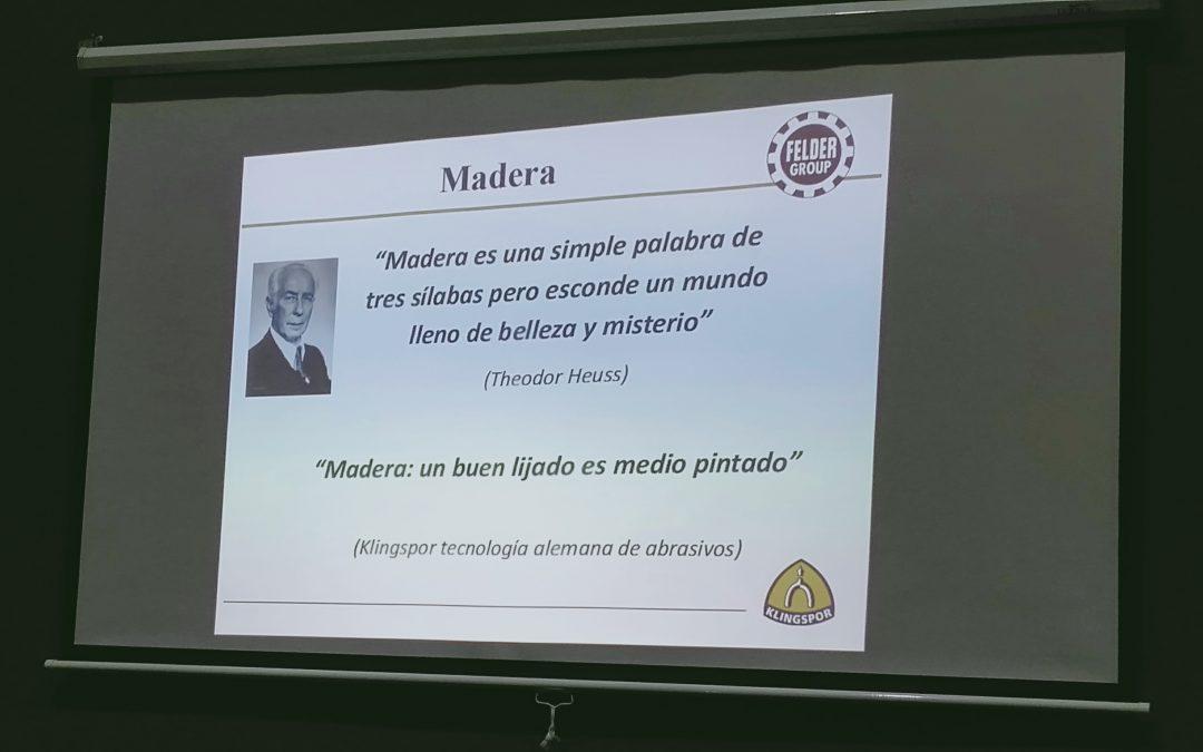FELDERTEK 2019 – Innovaciones Industrias de la Madera